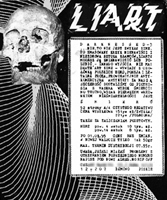 Ulotka (flyer) Darknessed 'zine 3